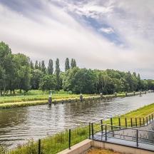 Rijn-Schiekanaal, Leiden